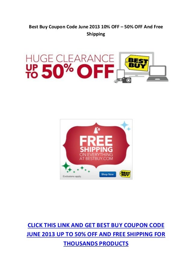 More About Best Buy Coupons