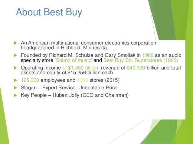 Best buy financial statement analysis essays