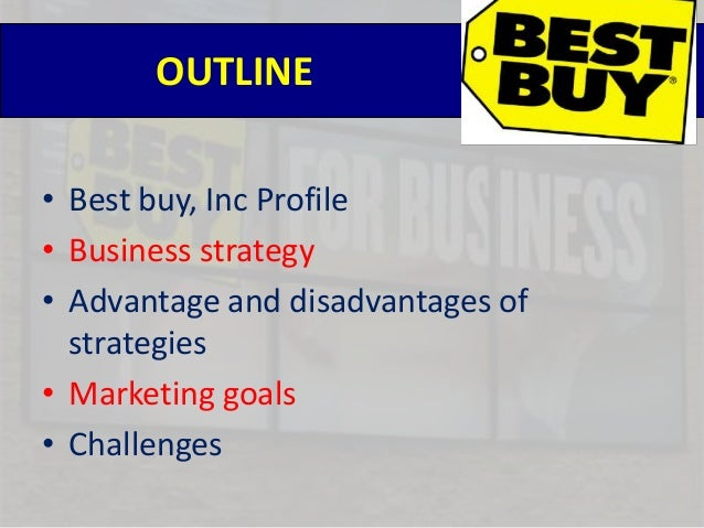 """bestbuys strategy Last september best buy held an investor conference titled """"best buy 2020:  building the new blue"""" where they announced their new growth strategy."""