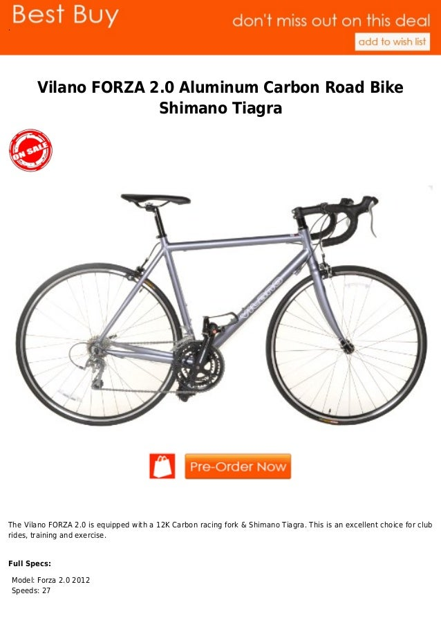 9bd5da21178 Best buy vilano forza 2.0 aluminum carbon road bike shimano tiagra .image.marked