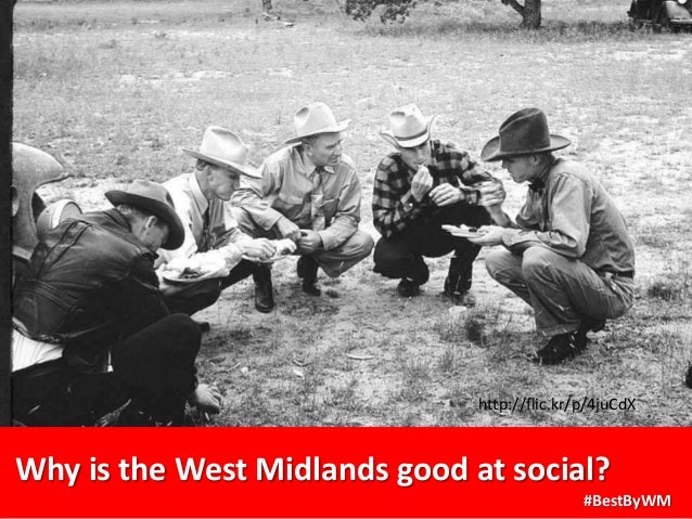 Why is the West Midlands good at social? #BestByWM http://flic.kr/p/4juCdX