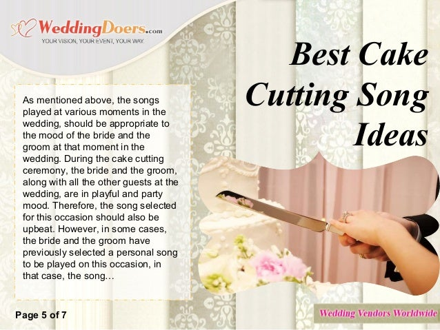 songs to cut the wedding cake to best cake cutting song ideas 20284
