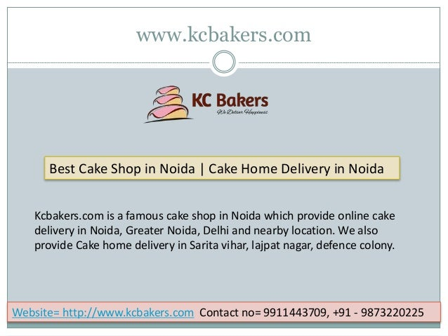 Best Cake Shop In Noida