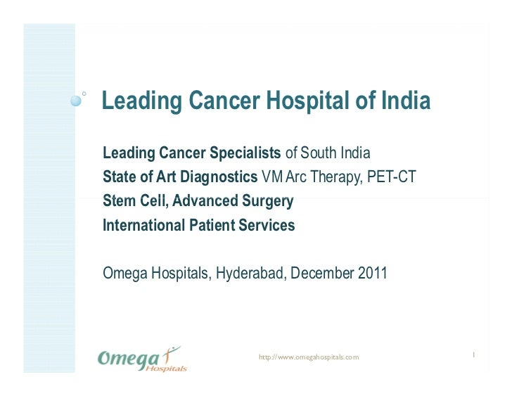 Leading Cancer Hospital of IndiaLeading Cancer Specialists of South IndiaState of Art Diagnostics VM Arc Therapy, PET-CTSt...