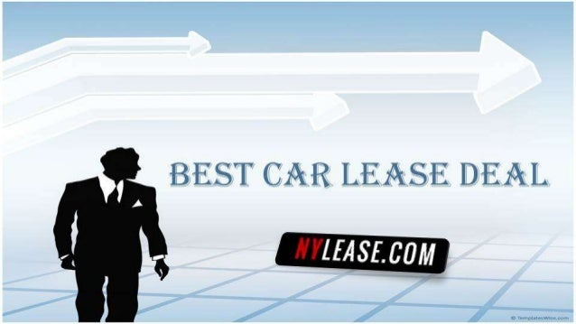 Best Car Lease Deal