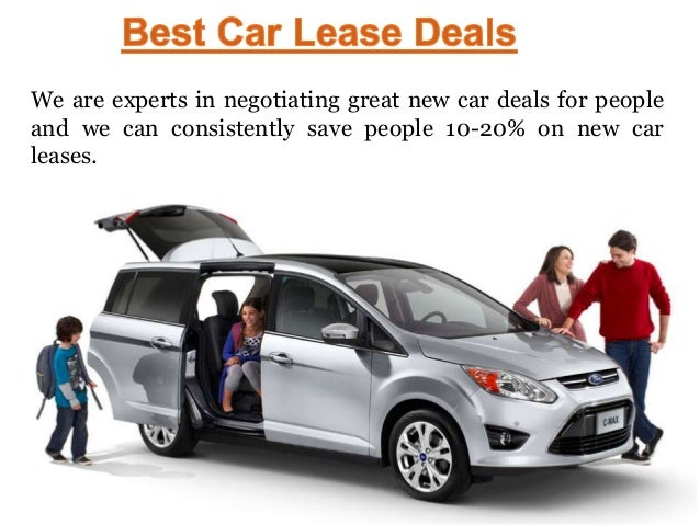 Auto Lease Deals >> Best Car Lease Deals