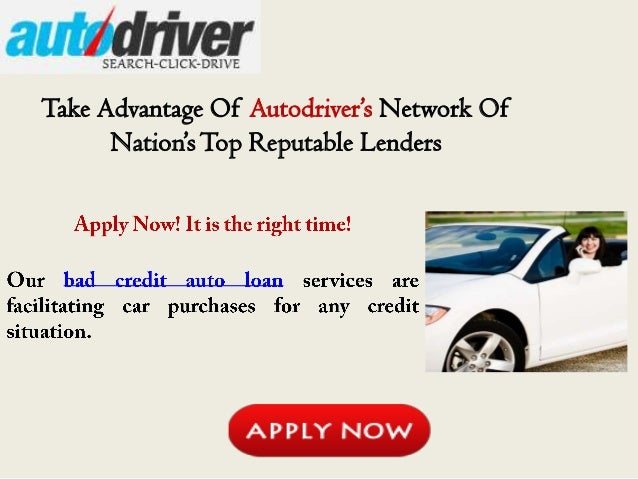 best bank to get car loan with bad credit