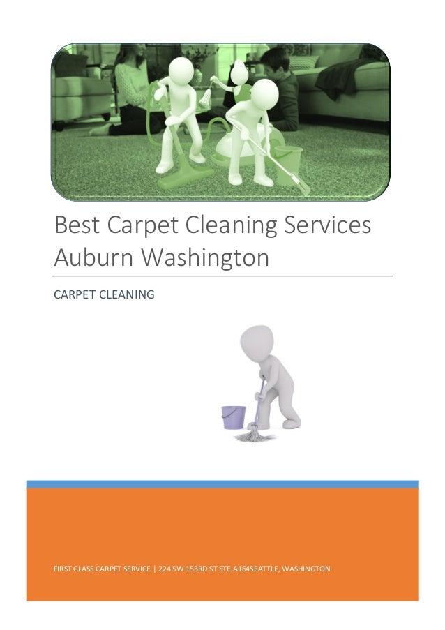 Best Carpet Cleaning Services Auburn Washington