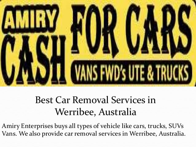Best Car Removal Services In Werribee Australia