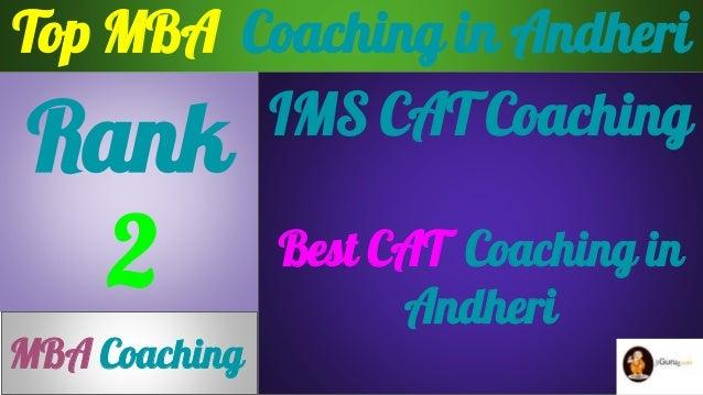 Best CAT  Coaching in Andheri Slide 2