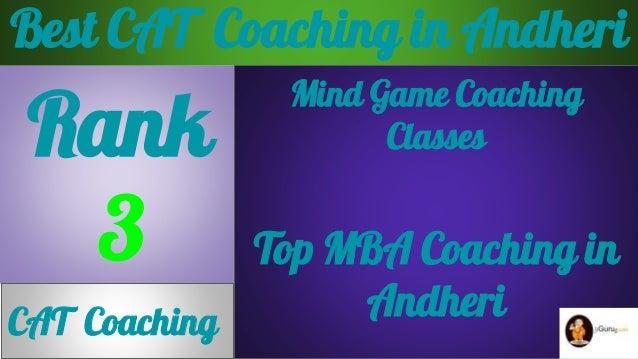 Best CAT  Coaching in Andheri Slide 3