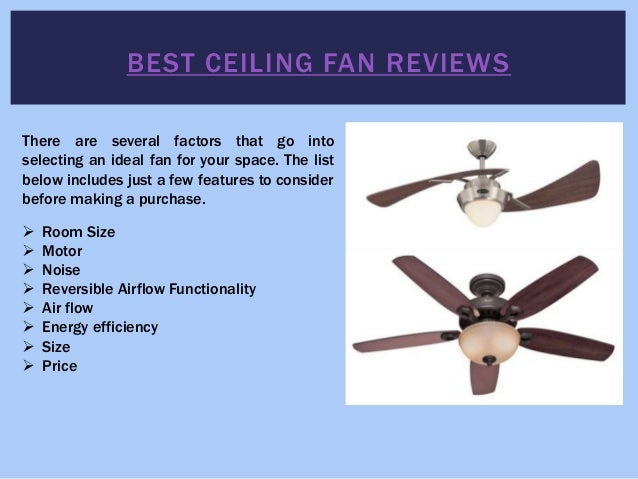 Best ceiling fans aloadofball Choice Image