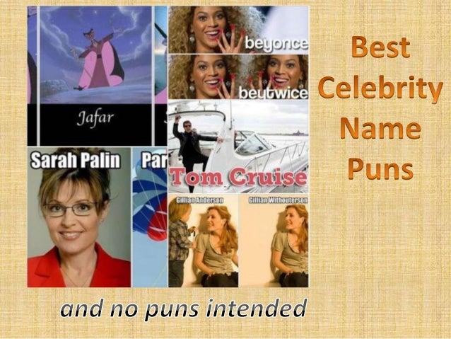 Best Celebrity Name Puns