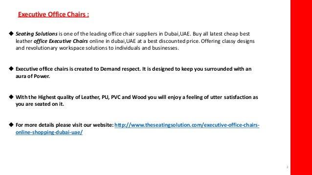 Best Cheap Executive Office Leather Chairs Dubai
