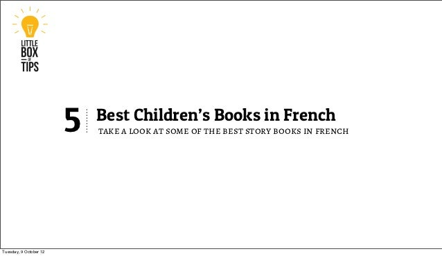 5   Best Children's Books in French                            take a look at some of the best story books in frenchTuesda...
