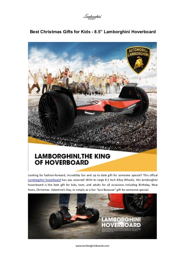 Good Christmas Gifts For Kids.Best Christmas Gifts For Kids Bluetooth Lambo Hoverboard
