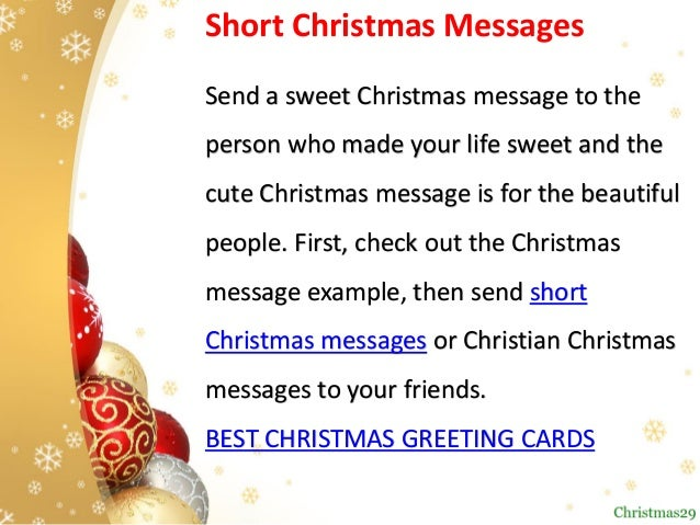 Christian Christmas Greetings.Best Christmas Wishes Top Christmas Messages For Family