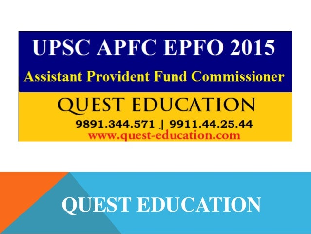 APFC/EPFO: Previous years papers, study material, strategy