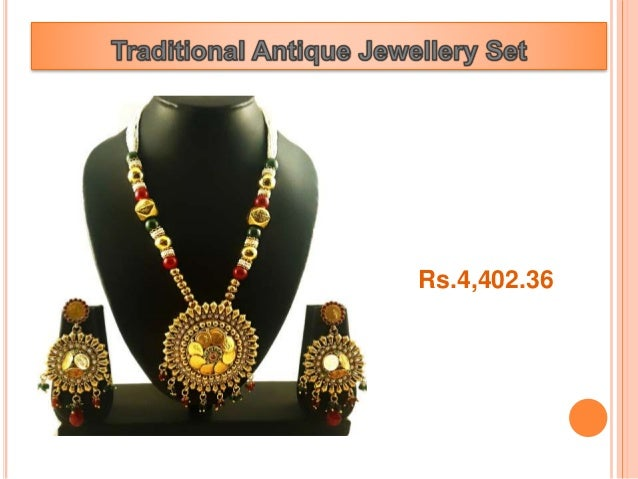 Best Collection for Antique Jewellery at Sanomy