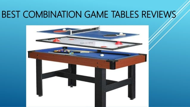 Best Combination Game Tables Reviews