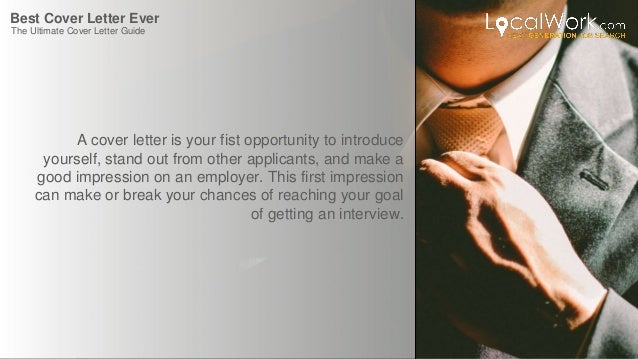 ... The Ultimate Cover Letter Guide; 2. Best ...  The Best Cover Letters