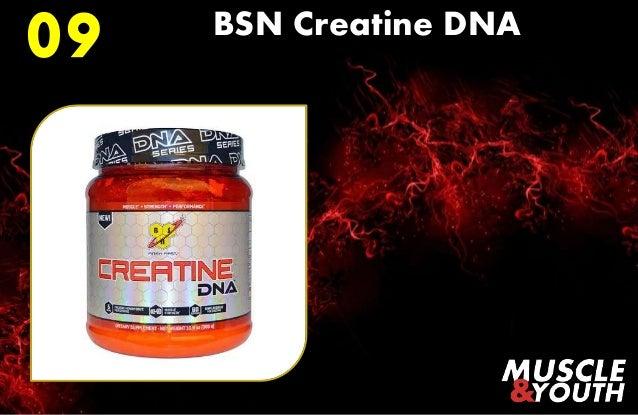 08 MusclePharm Creatine; 10.