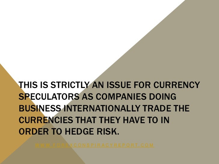 Where to trade currency