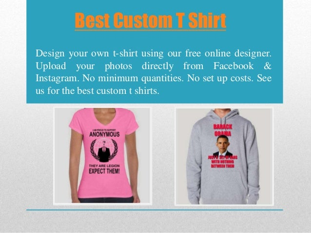 best custom t shirts no minimum best custom clothing site