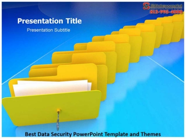 Best Data Security PowerPoint Template and Themes