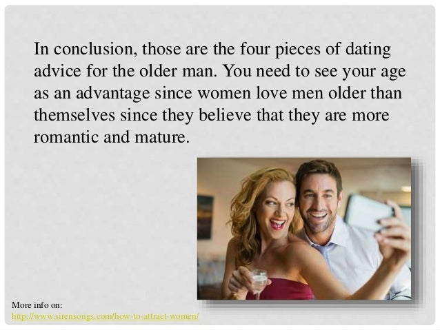 rules for dating older man