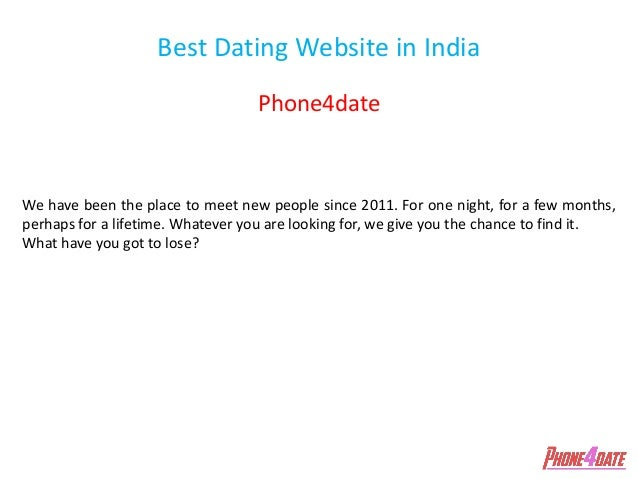 Good dating website in india 14