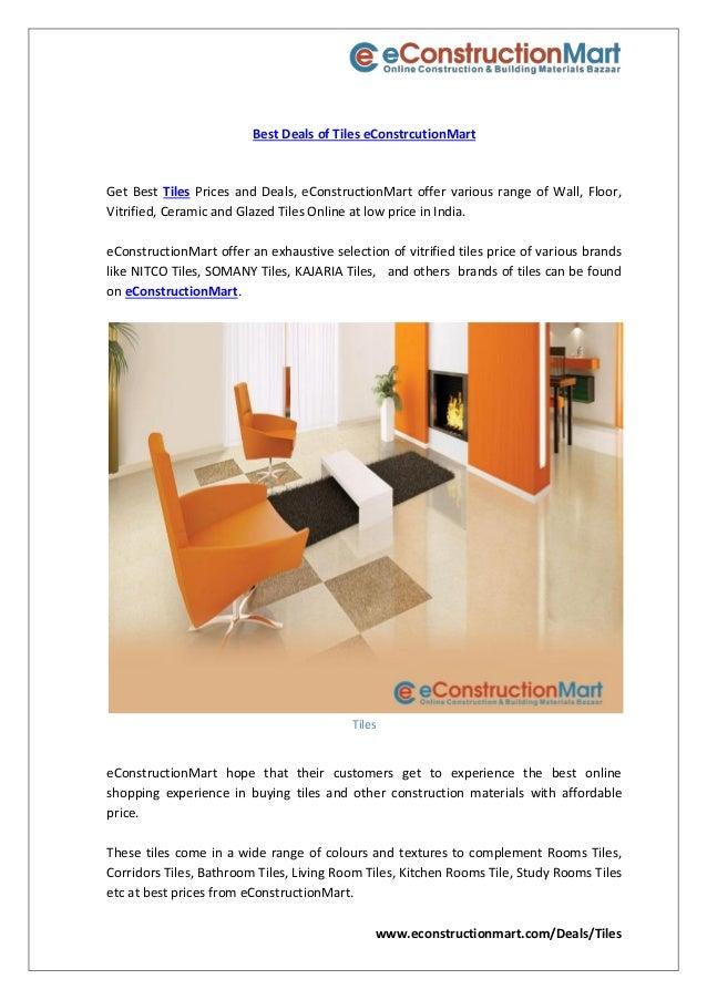 Best deals of tiles e constrcutionmart