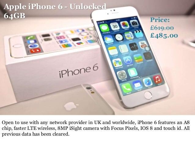 Best deals for iphone 6 unlocked