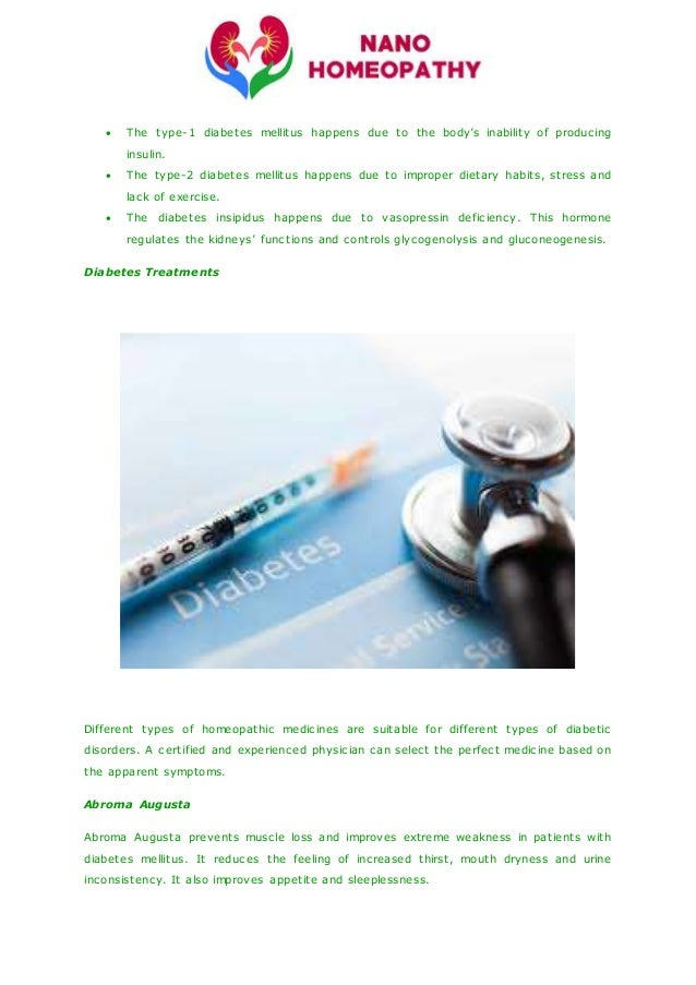 Best diabetes homeopathic treatment in vaishali
