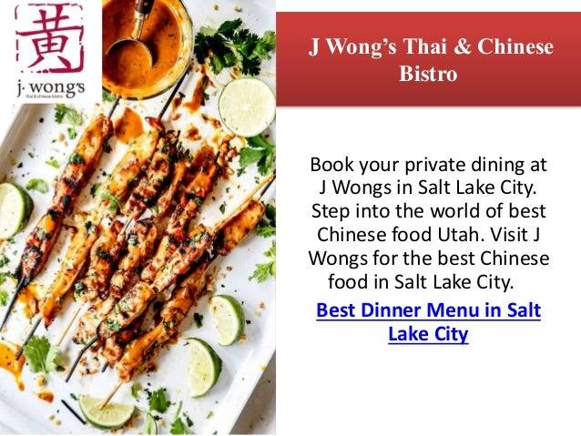 Best Dinner Places In Salt Lake City