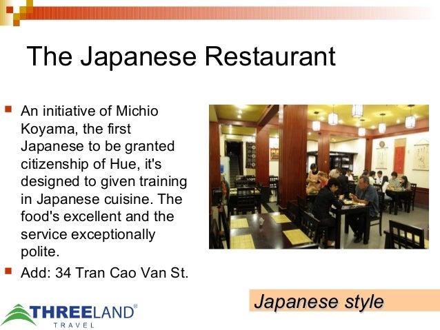 Best dinning places in vietnam