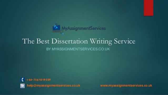 Best dissertation services