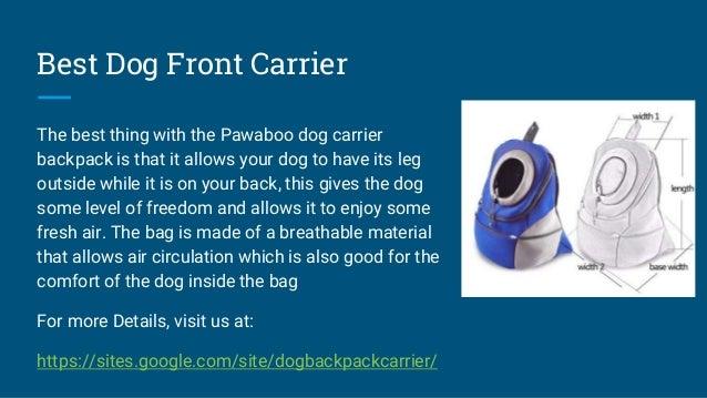 Best Dog Carrier Backpack