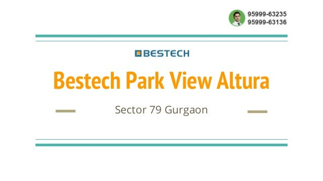 Bestech Park View Altura Sector 79 Gurgaon