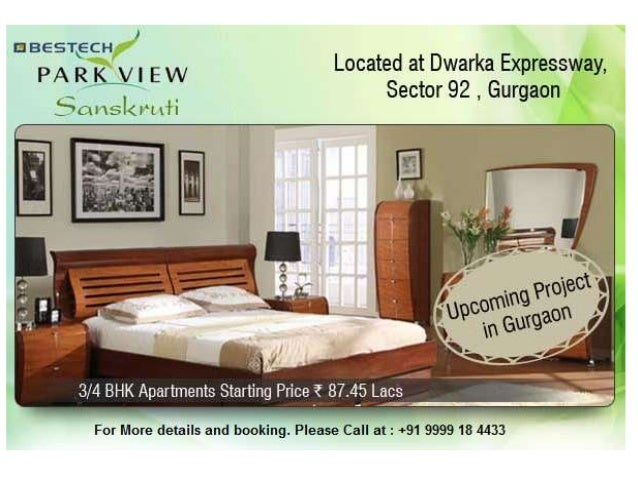 Bestech Park View Sanskruti is a very new upcoming residential project whichis just equal to a master work by the phenomen...