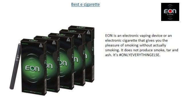 Best e cigarette