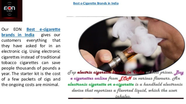 Our EON Best e-cigarette brands in India gives our customers everything that they have asked for in an electronic cig. Usi...