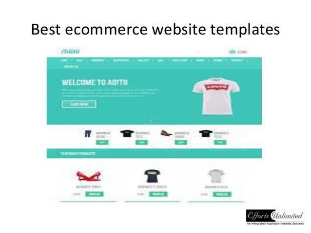 ecommerce privacy policy template - best ecommerce website templates
