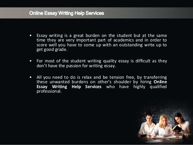 Help writing assignments comments