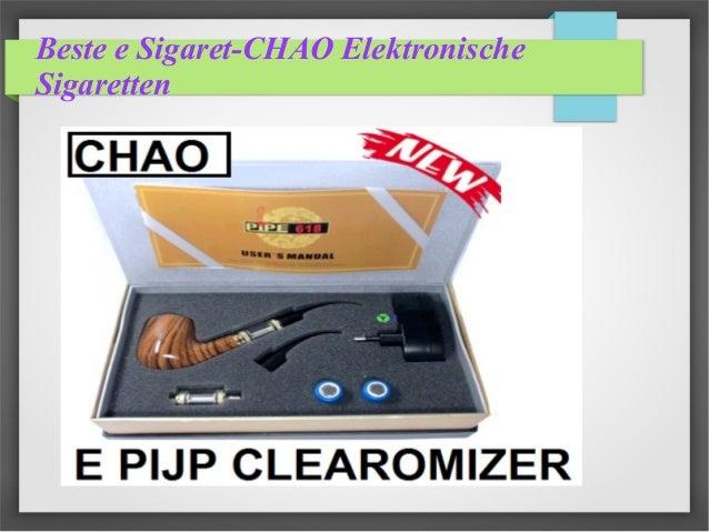 Beste e Sigaret-CHAO Elektronische Sigaretten