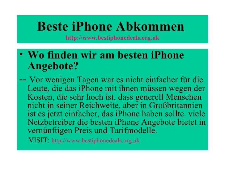 Beste i phone abkommen Slide 3