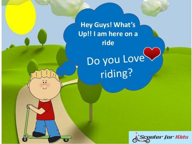 Hey Guys! What's Up!! I am here on a ride
