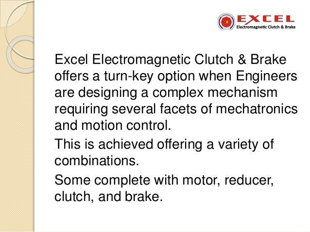 Best electromagnetic clutch brake combinaton Slide 2