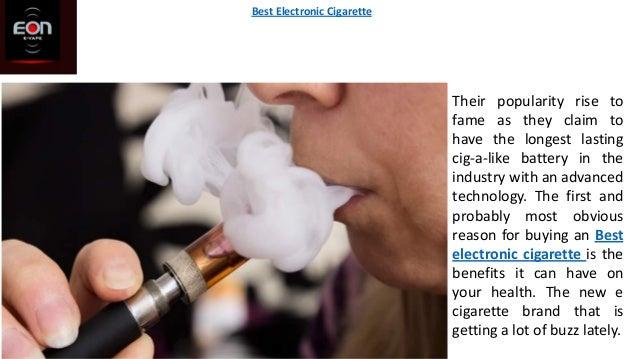 Best electronic cigarette Slide 2