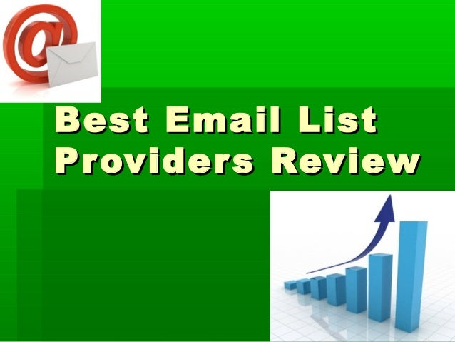 Best Email List Providers Review